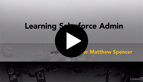 Learning Salesforce Admin